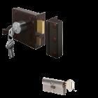 LIPS 1753 + 1 cilinder SKG 2 sterren ⭐⭐ Gelijksluitend DIN Links Draairichting 1