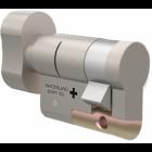 M&C Halve Knopcilinder - nikkel - Gelijk aan de knopcilinders van M&C Color Plus, M&C Matrix, M&C Condor en M&C Move