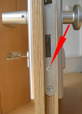 Cilinderslot opmeten stap 1 - SecurityDiscount.nl