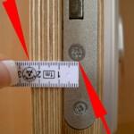 Cilinderslot opmeten stap 5 - SecurityDiscount.nl